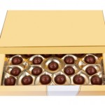 Box with chocolates