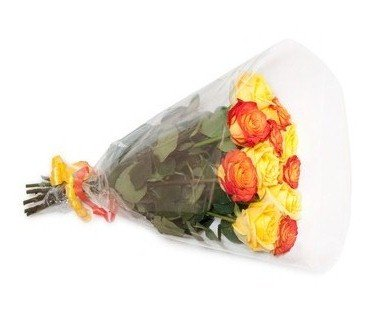 11yellow and orange roses